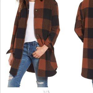 NWT BB Dakota Eldridge Plaid skirt jacket size L